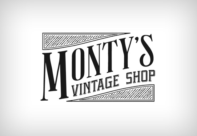 Vintage Boutique Logos Logo design: montyu0026#39;s vintage