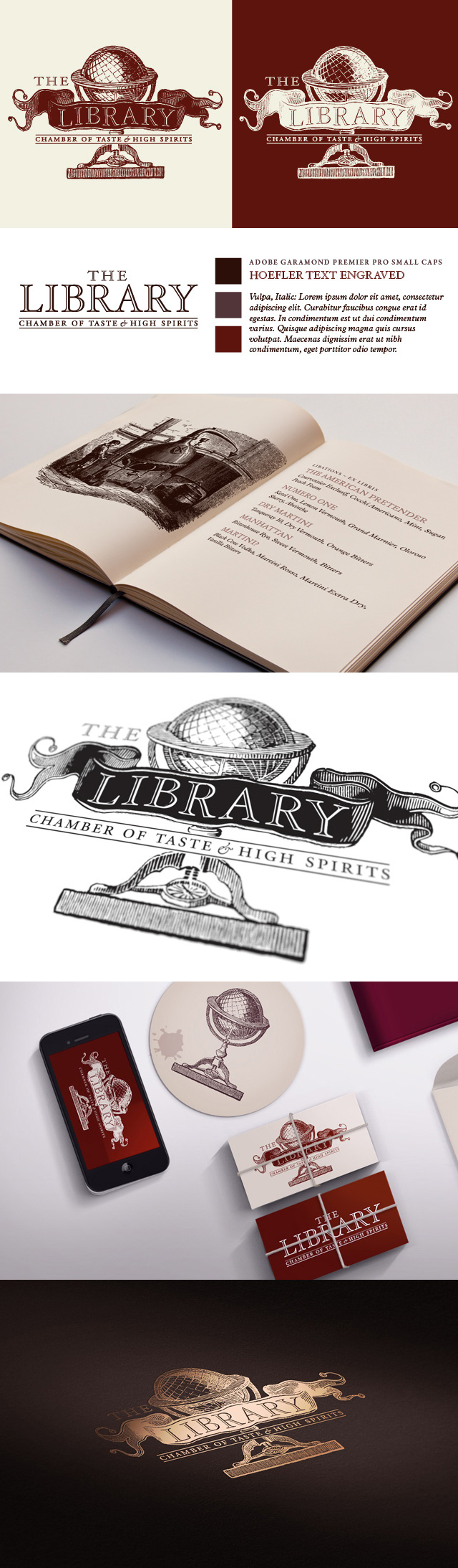 Logo Design: The Library