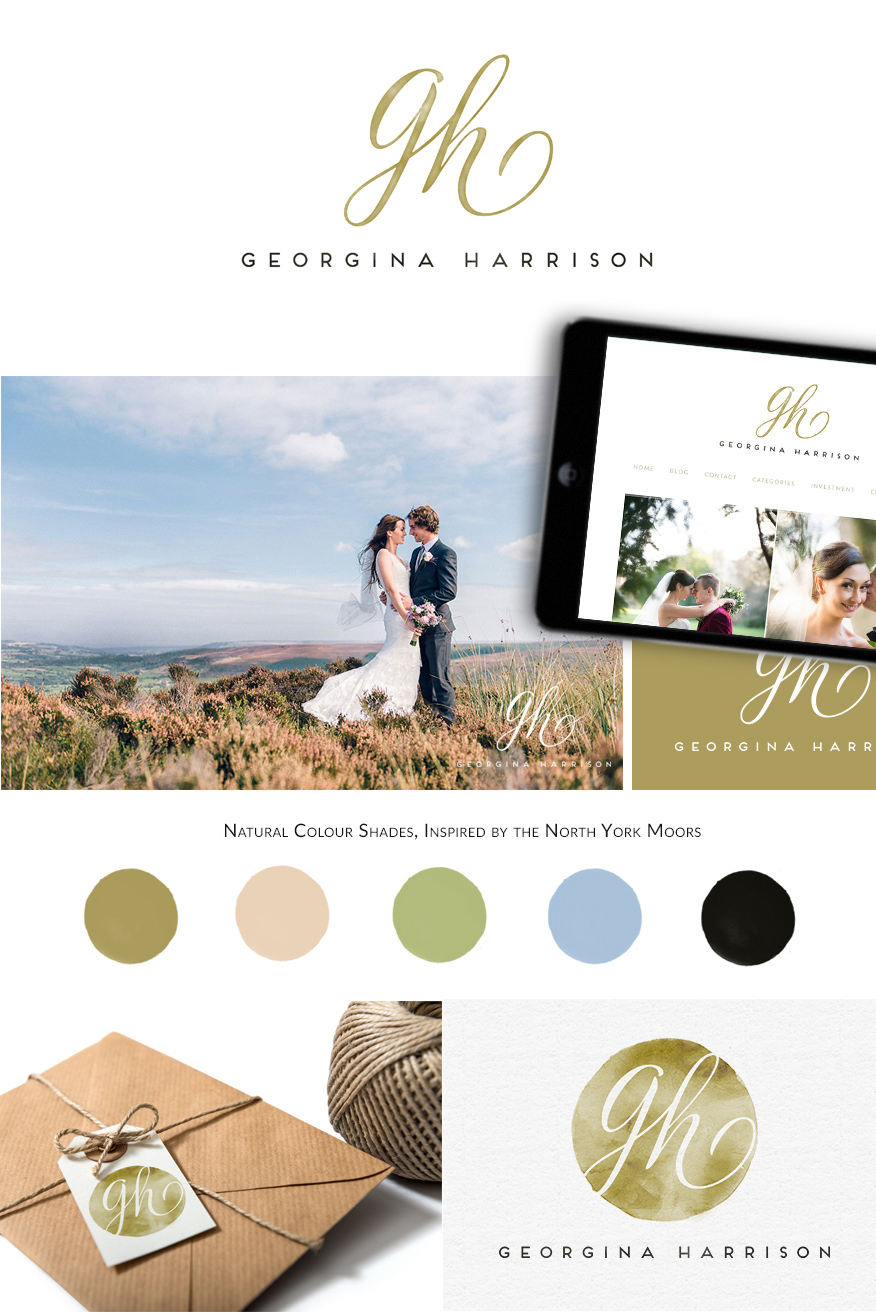 Logo & Branding: Georgina Harrison Photography
